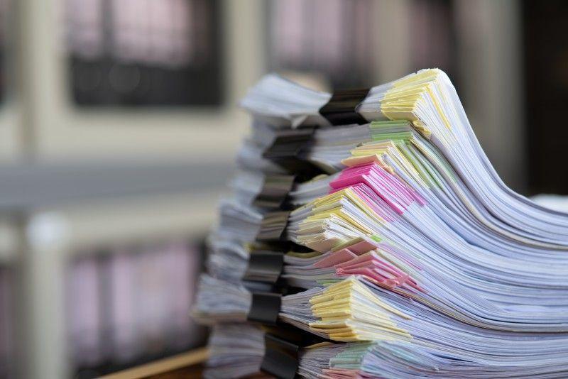 Pliki dokumentów do zniszczenia