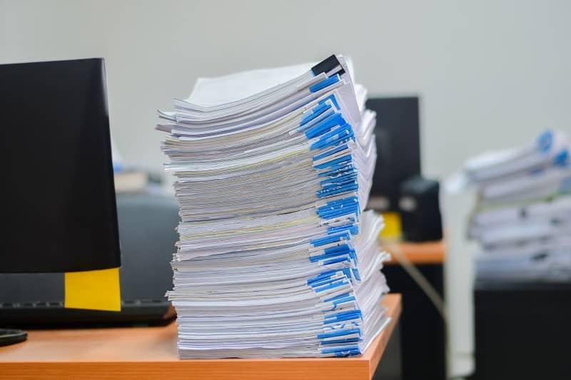 Dokumenty do zniszczenia